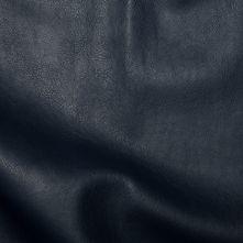 Half Price Navy PVC Leatherette